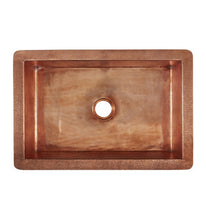 "Load image into Gallery viewer, Kahlo 33"" x 22"" Rose Gold Copper Sink"