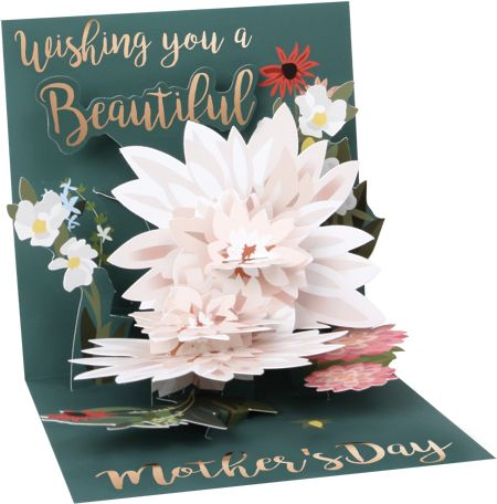Beautiful Wishes Mother's Day Pop-Up Card