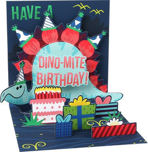 Dino-mite Birthday Pop-Up Card