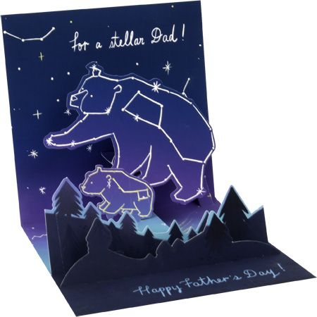 Stellar Dad Father's Day Pop-Up Card