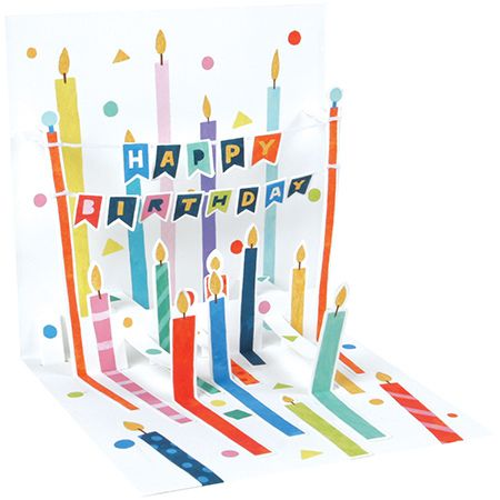 Lots of Candles Pop-Up Card
