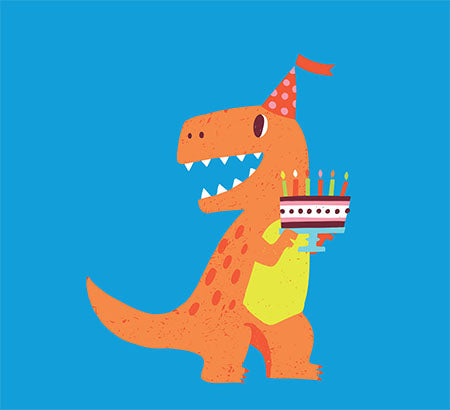 Dinosaurs Pop-Up Card