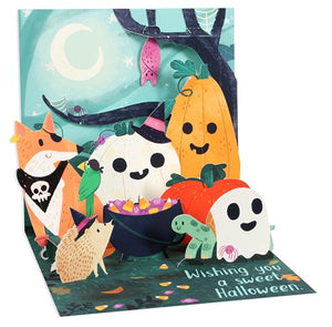 Woodland Halloween Pop-Up Card