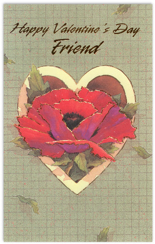 Friend Valentine's Day Card
