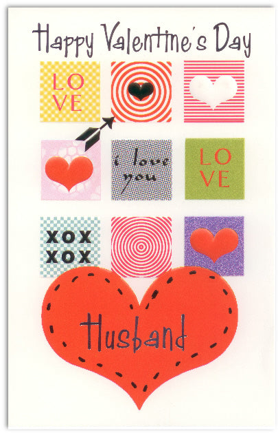 Husband Valentine's Day Card