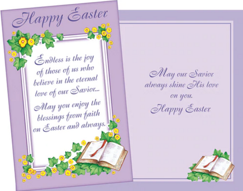 Easter Faith Card