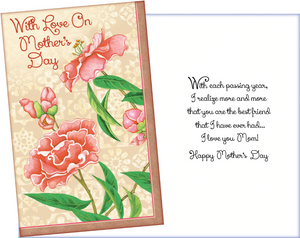With Love on Mother's Day Card