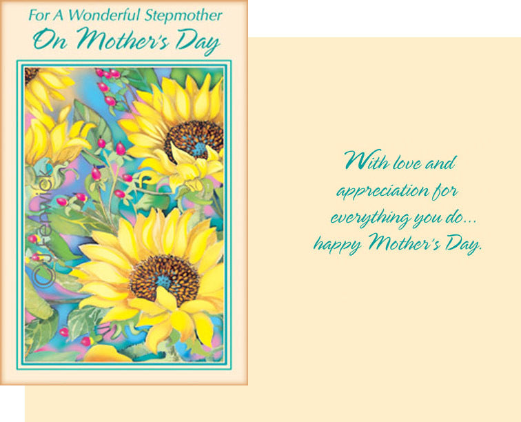 Stepmother Mother's Day Card