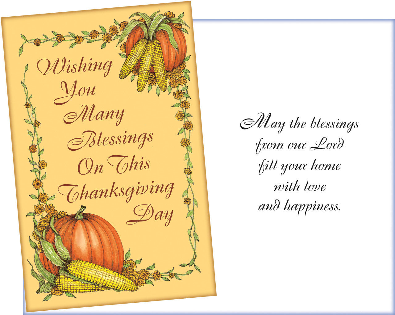 Blessings Thanksgiving Card