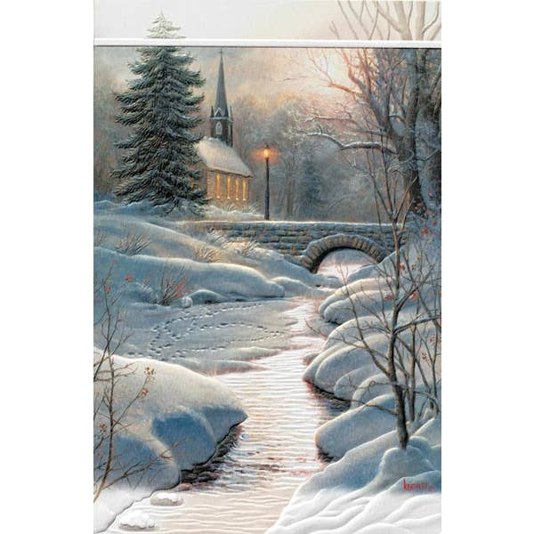 Glorious Light Christmas Card