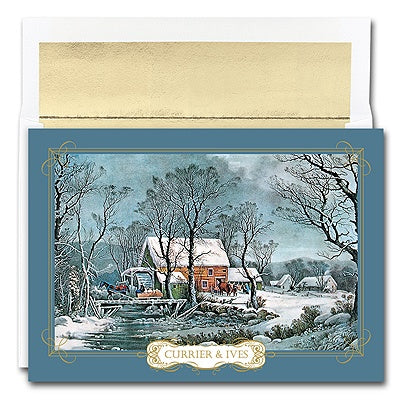 Season's Greetings Card Premium