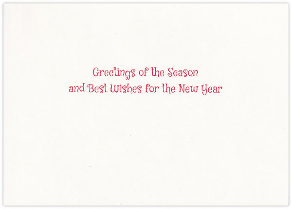 Snowmen - Season's Greetings Card