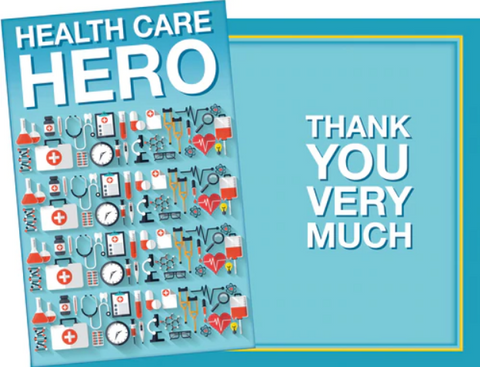 Health Care Hero Thank You Card