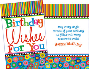 Birthday Wishes For You Card