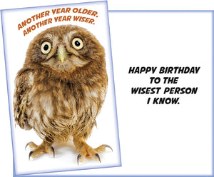 Humor Birthday Card