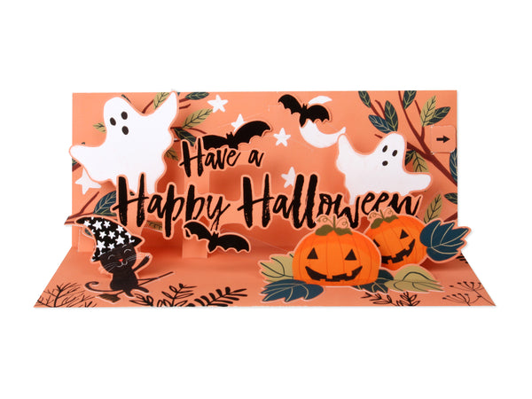 Happy Halloween Pop-Up Card