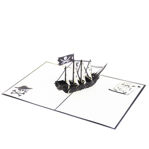 Pirate Ship Pop-Up Card