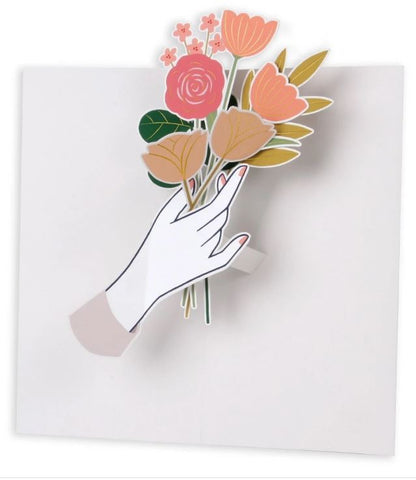 Flowers for You Pop-Up Card