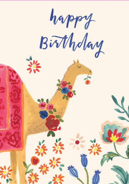 Camel Birthday Pop-Up Card