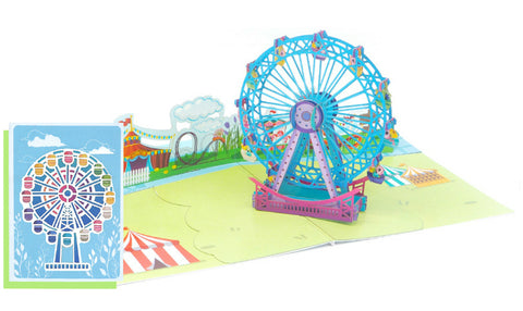 Fun Ferris Wheel Pop-Up Card