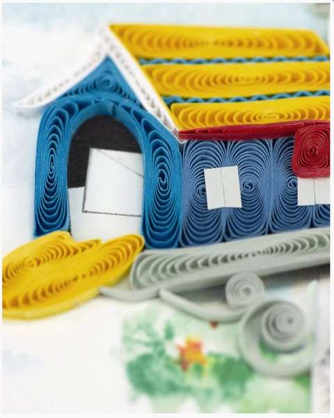 Happy Mailbox Quilling Card