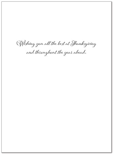 Thanksgiving Greeings Card