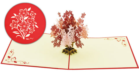 Floral Pop-Up Card