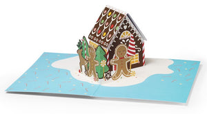 Gingerbread House Pop-Up Card