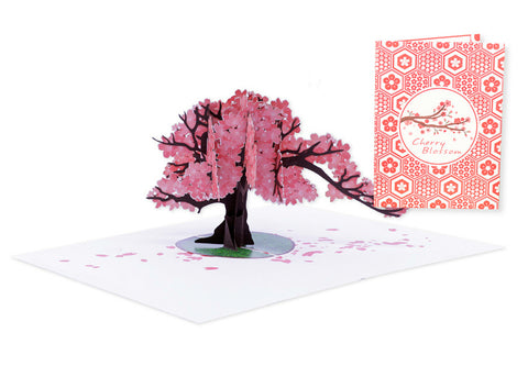 Cherry Blossom Pop-Up Card