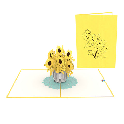 Sunflowers Pop-Up Card