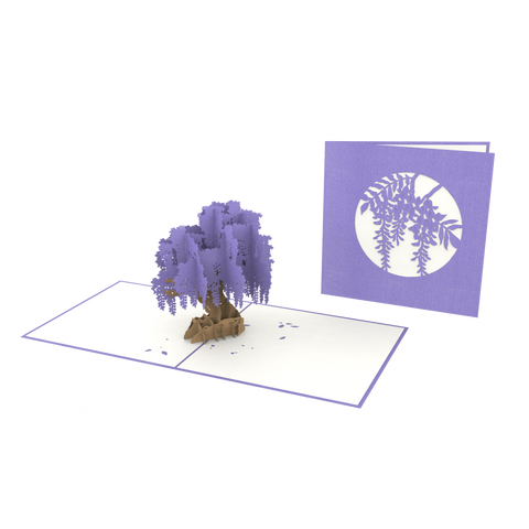 Wisteria Pop-Up Card