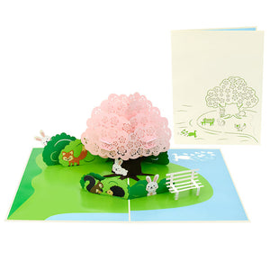 Forest Friends Pop-Up Card