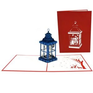 Magical Lantern Pop-Up Card