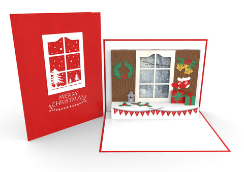 Christmas Window Pop-Up Card
