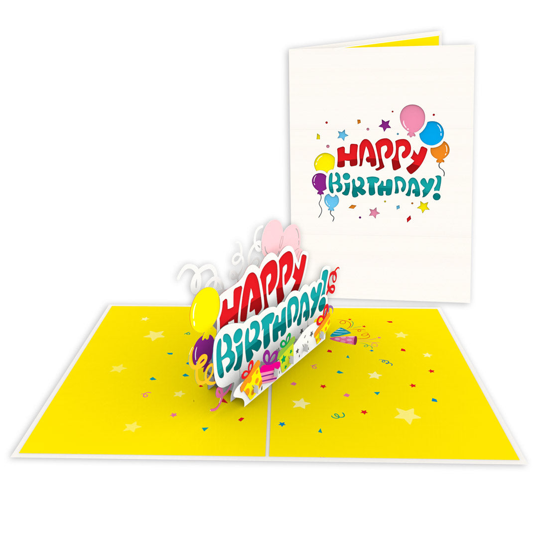 Happy Birthday! Pop-Up Card