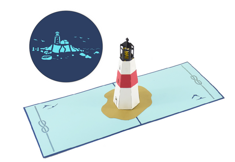Lighthouse Pop-Up Card