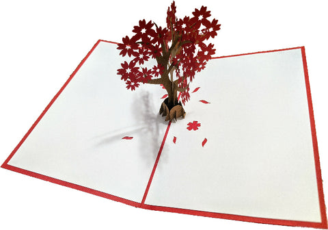 Floral Tree Pop-Up Card