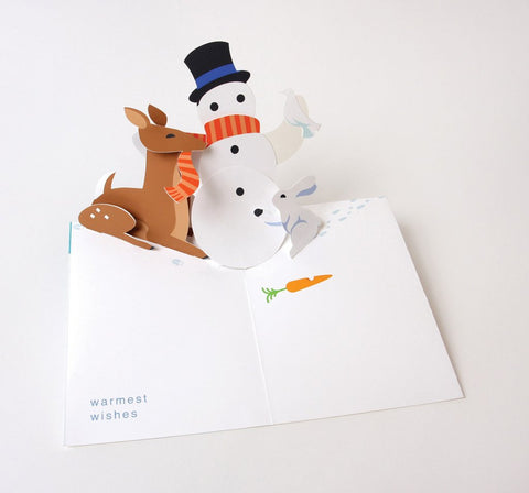 Snowman Pop-Up Card