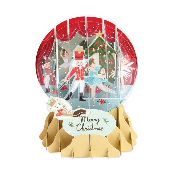 Snow Globe - Nutcracker Merry Christmas