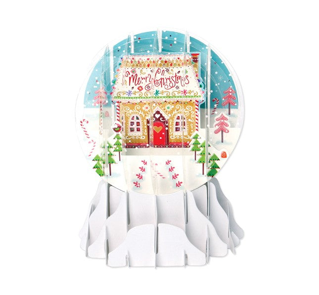 Snow Globe - Christmas Candy House