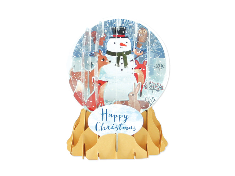Snow Globe - Forest Snowman Christmas