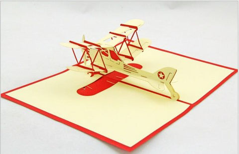 Airplane Pop-Up Card