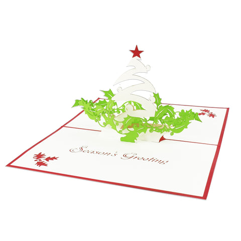 Season's Greetings Pop-Up Card