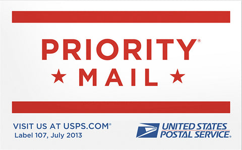 Priority Mailing Upgrade (US Only)