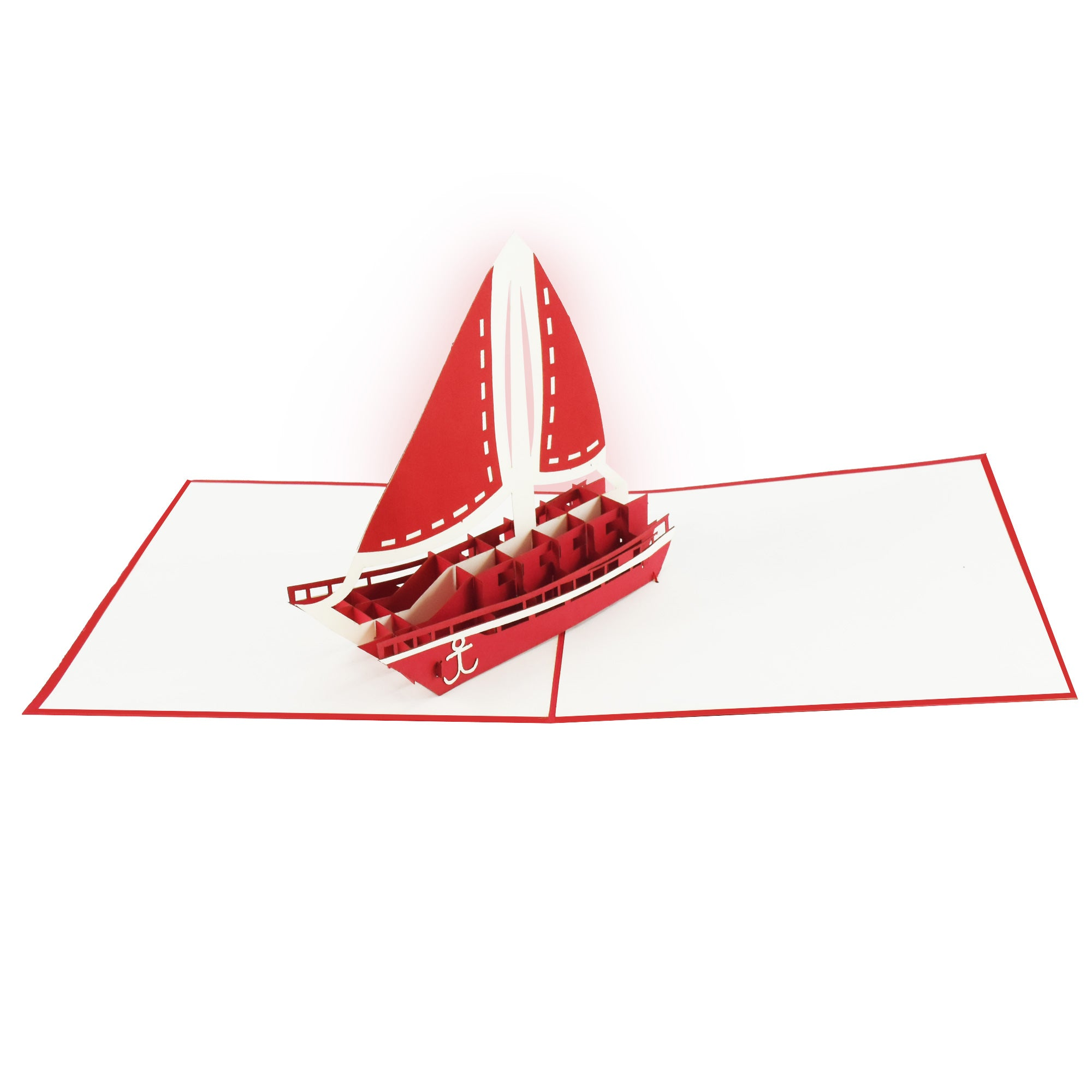 Sail Boat Pop-Up Card