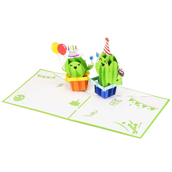 Cactus Birthday Pop-Up Card