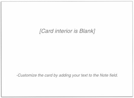 Blank Note Card