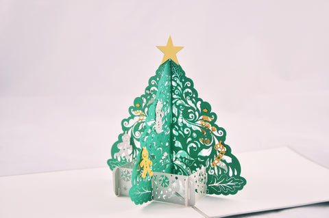 Christmas Tree Pop-Up Card
