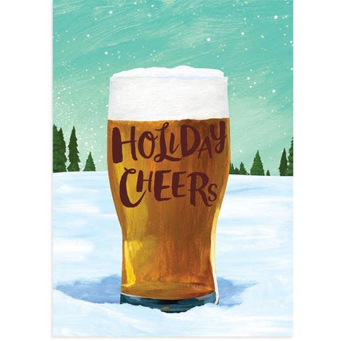 Beer Cheer Holiday Card