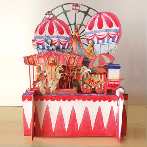 3D Carnival Pop-Up Card
